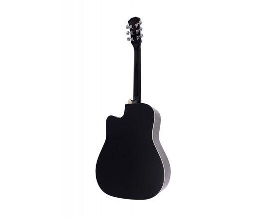 Акустическая гитара Alfabeto WL41 BK + чехол, фото 2
