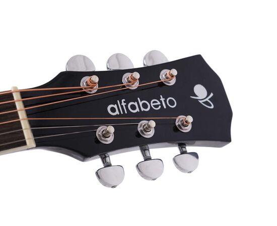 Акустическая гитара Alfabeto WL41 BK + чехол, фото 5
