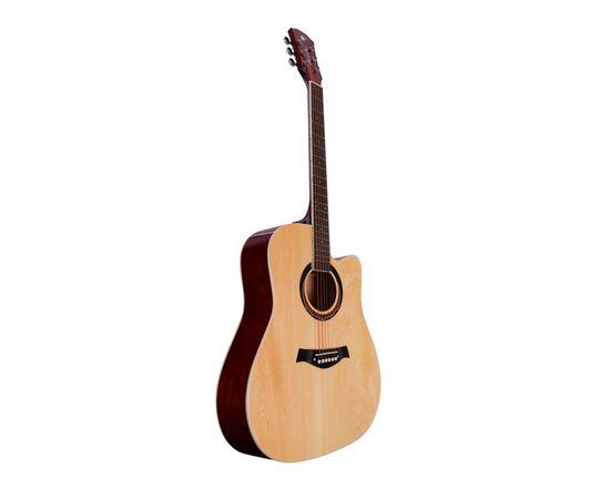 Акустическая гитара Alfabeto WL41 ST + чехол, фото 4