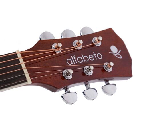 Акустическая гитара Alfabeto WL41 ST + чехол, фото 3