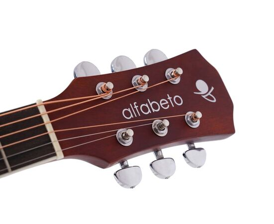 Акустическая гитара Alfabeto WL41 NT + чехол, фото 4