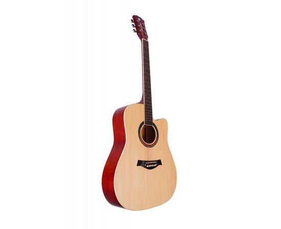 Акустическая гитара Alfabeto WL41 NT + чехол, фото 3
