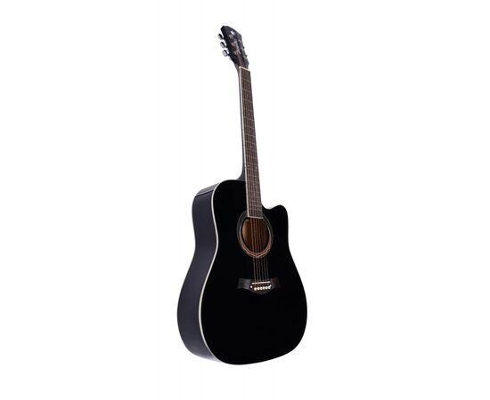 Акустическая гитара Alfabeto WL41 BK + чехол, фото 3