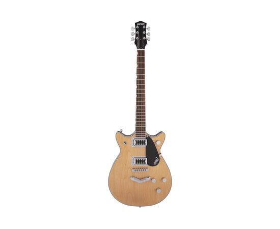 Электрогитара GRETSCH G5222 ELECTROMATIC DOUBLE JET BT LR AGED NATURAL, фото