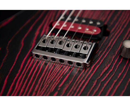 Электрогитара CORT KX300 Etched (Black Red), фото 11