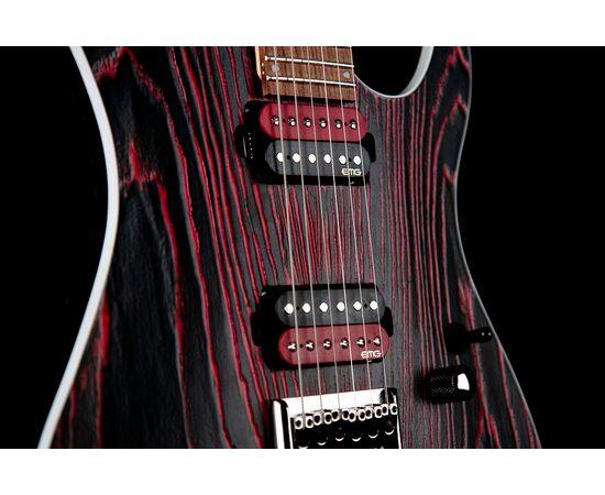 Электрогитара CORT KX300 Etched (Black Red), фото 3