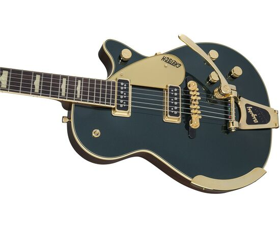 Електрогітара GRETSCH G6128T-57 VINTAGE SELECT '57 DUO JET w / Bigsby CADILLAC GREEN, фото 6