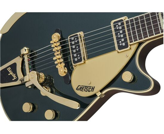 Електрогітара GRETSCH G6128T-57 VINTAGE SELECT '57 DUO JET w / Bigsby CADILLAC GREEN, фото 7