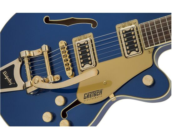 Напівакустична гітара GRETSCH G5655TG ELECTROMATIC CENTER BLOCK JR. AZURE METALLIC, фото 4