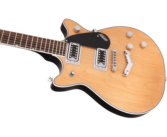 Электрогитара GRETSCH G5222 ELECTROMATIC DOUBLE JET BT LR AGED NATURAL, фото 3