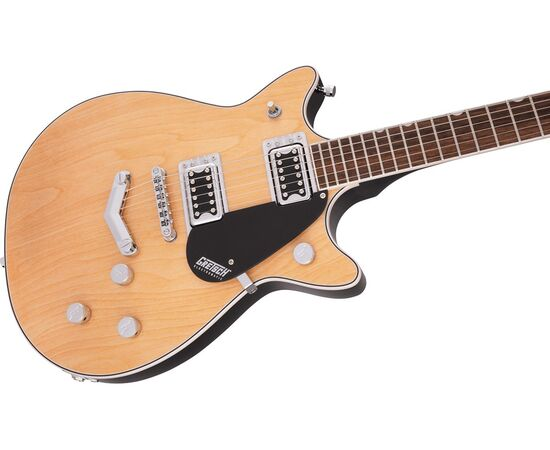 Электрогитара GRETSCH G5222 ELECTROMATIC DOUBLE JET BT LR AGED NATURAL, фото 4