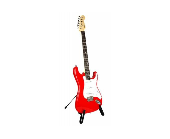 Електрогітара SQUIER by FENDER MM STRAT HT RED, фото 4