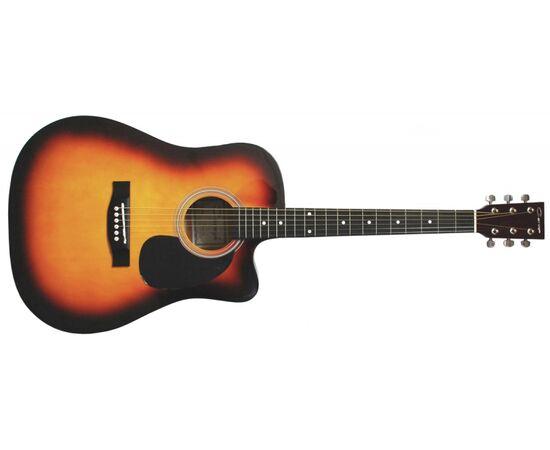 Акустическая фолк-гитара CARAYA F-601 SB, фото