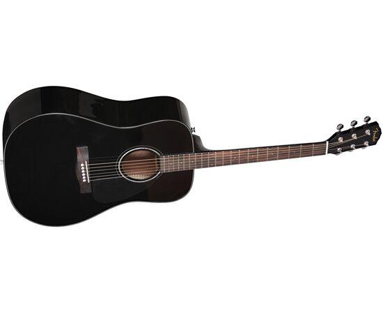 Гітара акустична FENDER CD-60 V3 WN BLACK, фото 2