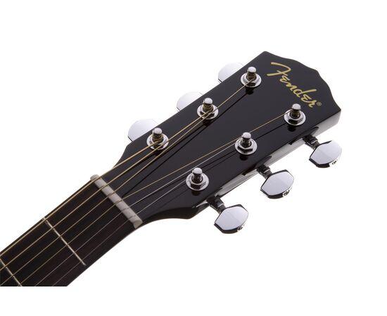 Гітара акустична FENDER CD-60 V3 WN BLACK, фото 6