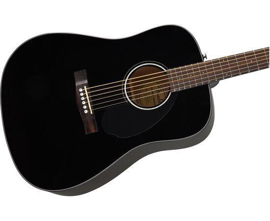 Акустическая гитара FENDER CD-60S BLACK WN, фото 5