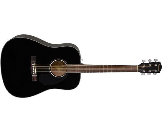 Акустическая гитара FENDER CD-60S BLACK WN, фото 3