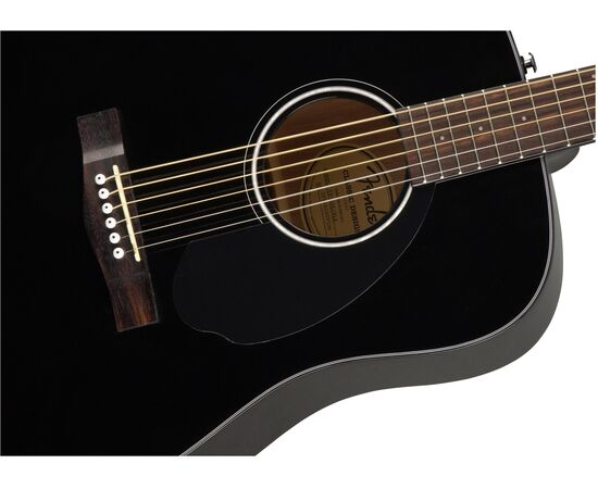 Акустическая гитара FENDER CD-60S BLACK WN, фото 4