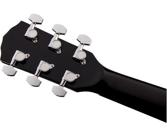 Акустическая гитара FENDER CD-60S BLACK WN, фото 7