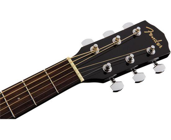 Акустическая гитара FENDER CD-60S BLACK WN, фото 6