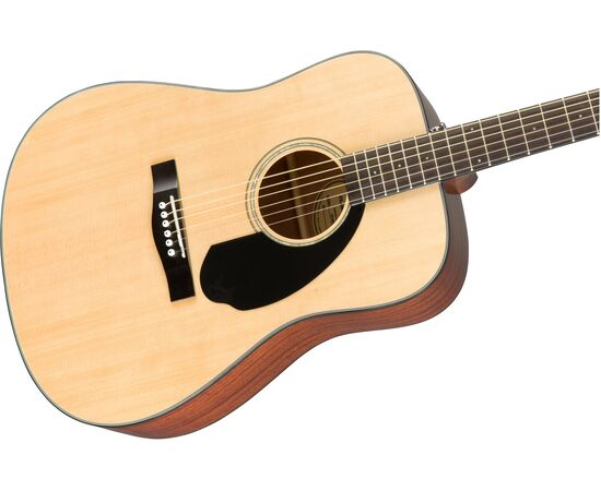 Акустическая гитара FENDER CD-60S NATURAL WN, фото 5