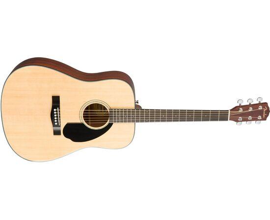 Акустическая гитара FENDER CD-60S NATURAL WN, фото 3