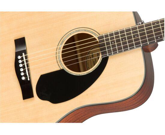 Акустическая гитара FENDER CD-60S NATURAL WN, фото 4
