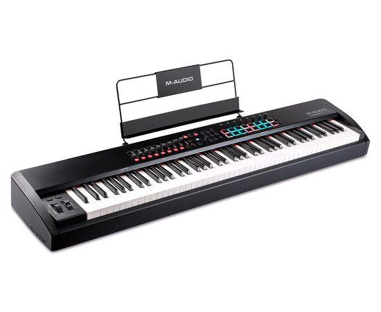MIDI клавиатура с молоточковой механикой M-AUDIO Hammer 88 Pro, фото 5