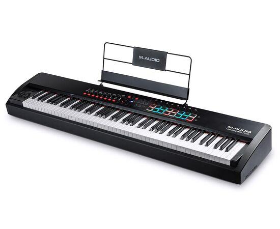 MIDI клавиатура с молоточковой механикой M-AUDIO Hammer 88 Pro, фото 6