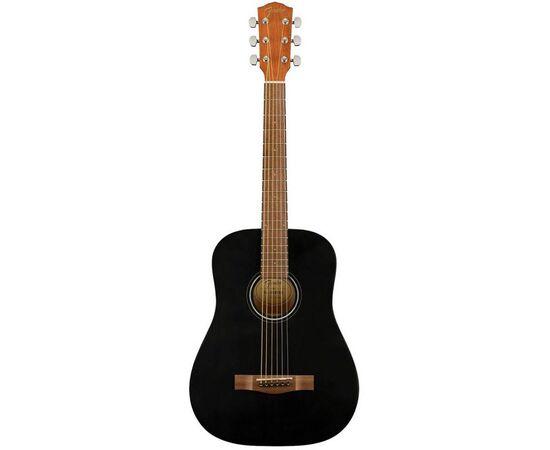 Акустична гітара FENDER FA-15 STEEL 3/4 BLACK WN w/BAG, фото