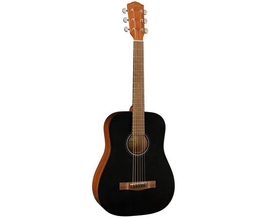 Акустична гітара FENDER FA-15 STEEL 3/4 BLACK WN w/BAG, фото 3