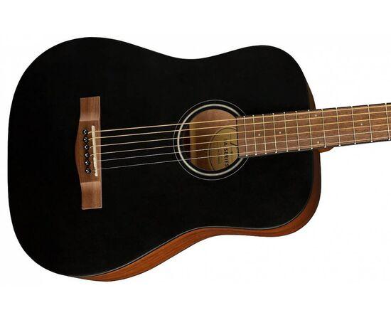 Акустична гітара FENDER FA-15 STEEL 3/4 BLACK WN w/BAG, фото 4