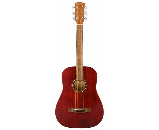 Акустична гітара FENDER FA-15 STEEL 3/4 RED WN w/BAG, фото