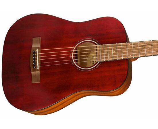 Акустична гітара FENDER FA-15 STEEL 3/4 RED WN w/BAG, фото 4