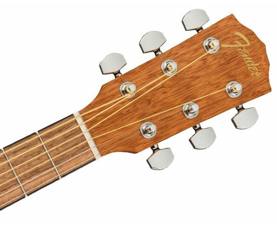 Акустична гітара FENDER FA-15 STEEL 3/4 RED WN w/BAG, фото 5