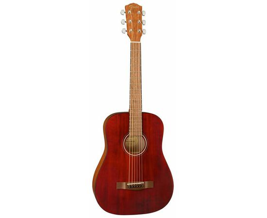 Акустична гітара FENDER FA-15 STEEL 3/4 RED WN w/BAG, фото 3
